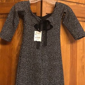 Zara trafaluc midi dress NWT